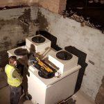 Colemans Fireproof Depository interior - Aspen Woolf