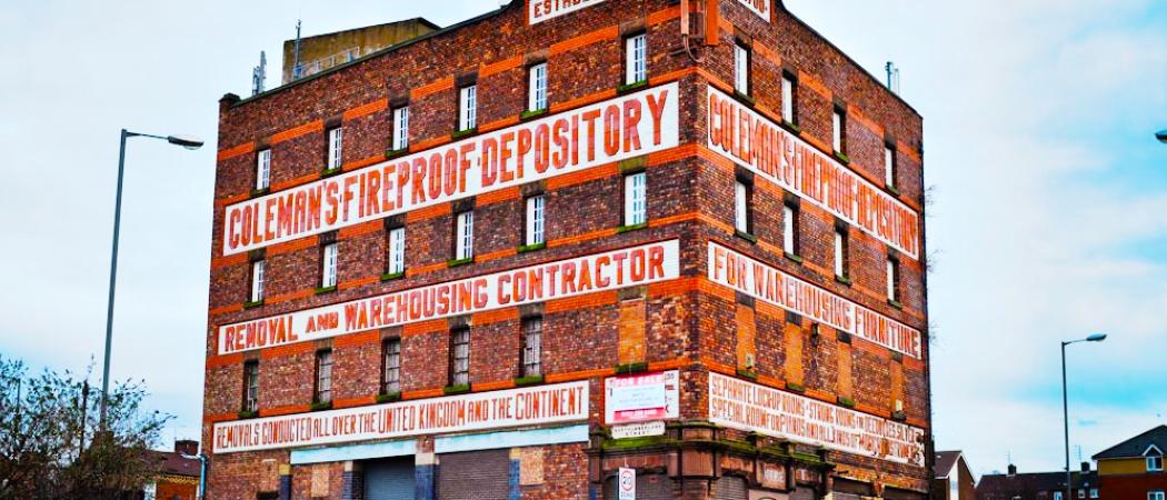 Colemans Fireproof Depository banner - Aspen Woolf