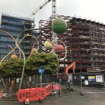 Wolstenholme Square Construction Site 30-05-17 - Aspen Woolf 1