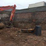 Digger at Ropewalks site - Aspen Woolf