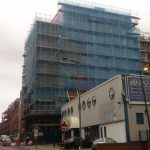 One Wolstenholme Square Exterior Construction - 05-09-17 - Aspen Woolf 1