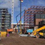 Wolstenholme Square construction site - Aspen Woolf