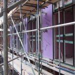 Wolstenholme Square scaffolding (4) - Aspen Woolf