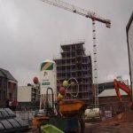 Wolstenholme Square scaffolding (3) - Aspen Woolf