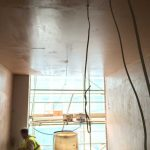 Victoria House interior construction - Aspen Woolf
