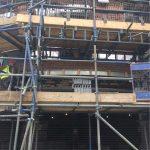 West Bar House scaffolding (2) - Aspen Woolf
