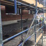 West Bar House scaffolding - Aspen Woolf