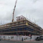 Pembroke Studios Exterior Construction 29-04-17 - Aspen Woolf 6