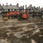 Eldon Grove Construction Panorama