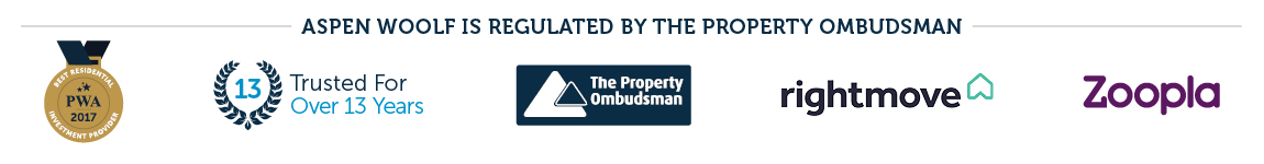 aspen woolf is regulated by the property ombudsman